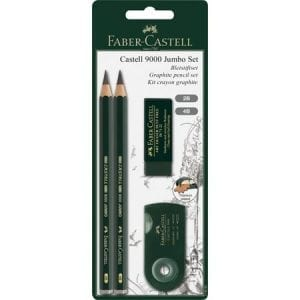 Castell 9000 Jumbo Drawing Set