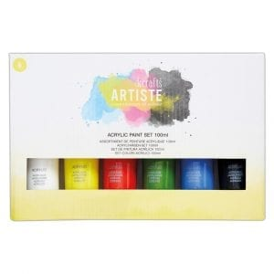 Acrylic Paint Set (6pk) - 100ml