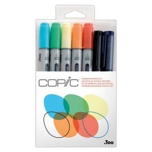 Copic Doodle Kit - Rainbow