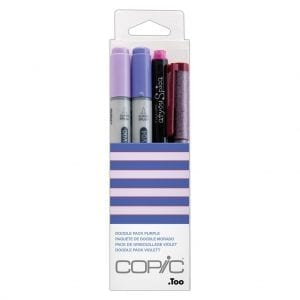 Copic Doodle Pack - Purple
