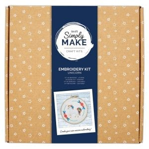 Embroidery Kit - Simply Make - Unicorn