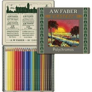 Limited Edition 111th Anniversary - Tin of 24 Polychromos Artists' Pencils 3