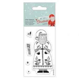 Clear Stamps - Merriest Christmas - Santa