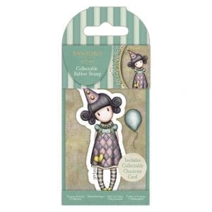 Collectable Rubber Stamp - Santoro - No.69 – Pierrot