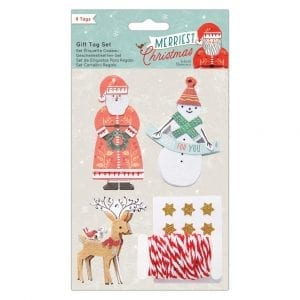 Gift Tag Set (9 pcs) - Merriest Christmas