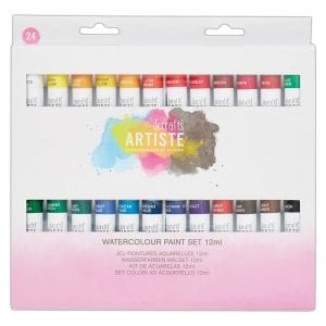 Watercolour Paint Set 12ml (24pk)